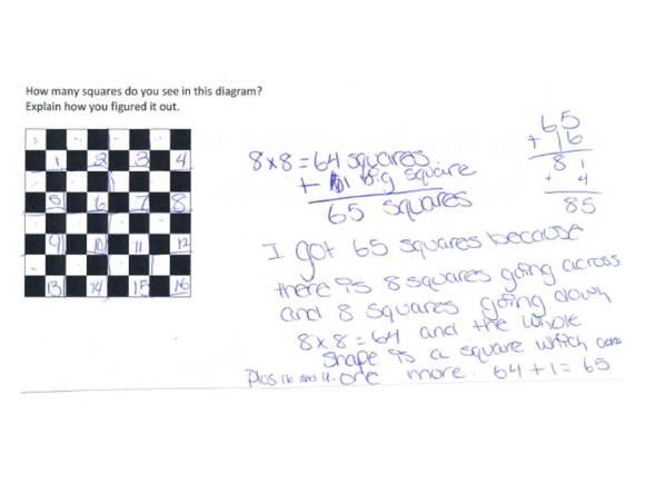 How many squares problem