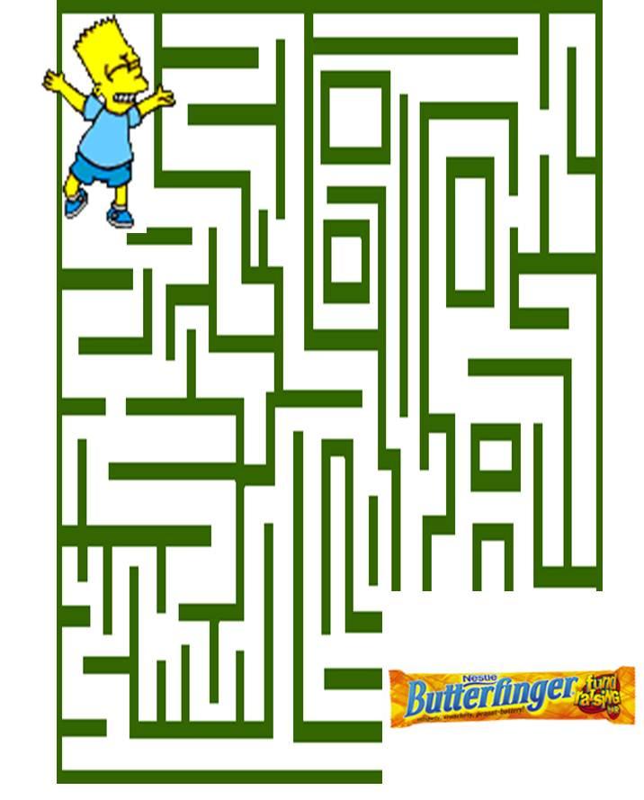 Math Work is like a Maze