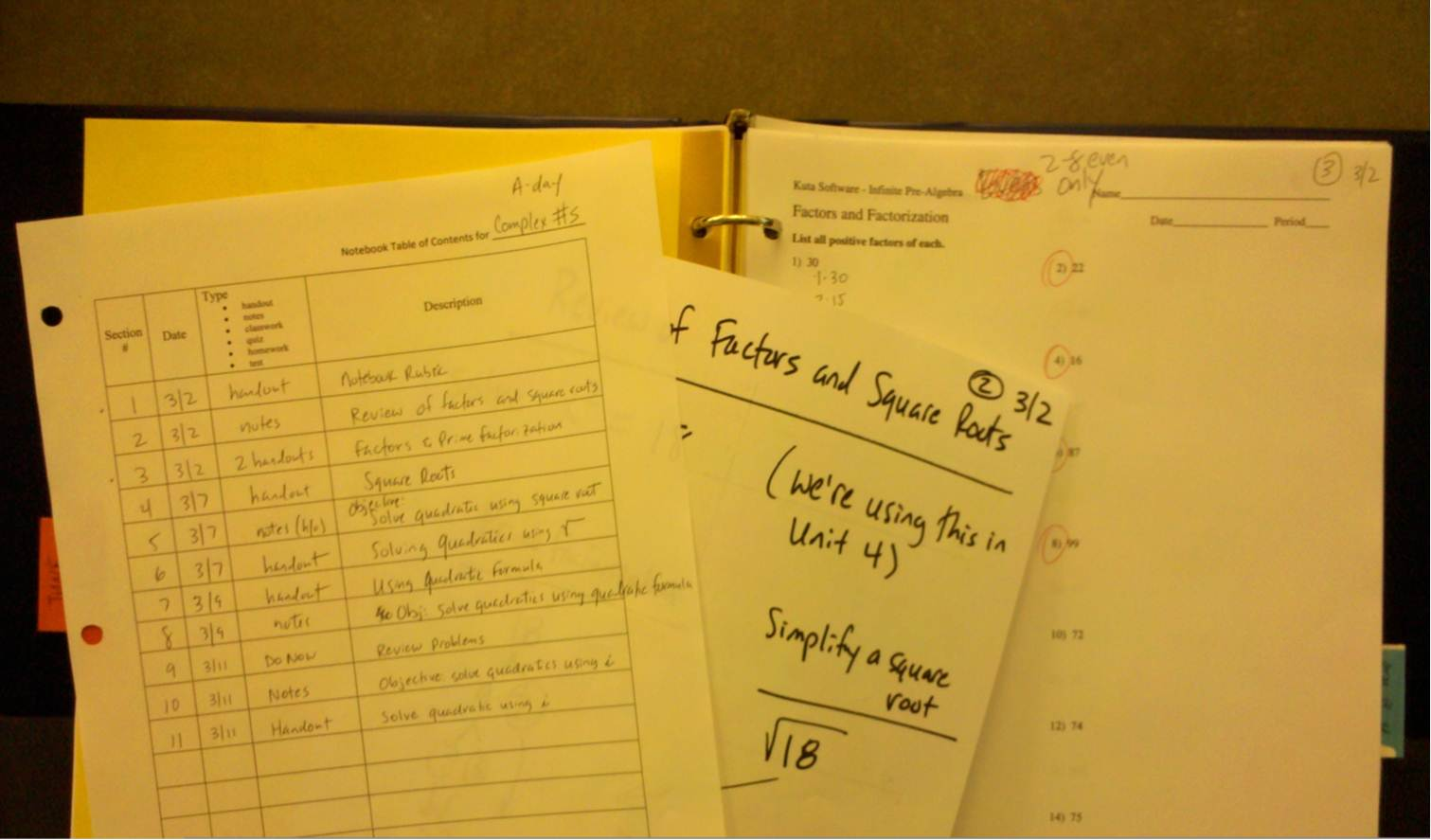 Notebook Strategy