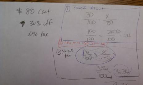 discount tax problem