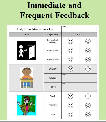 checklist-in-class