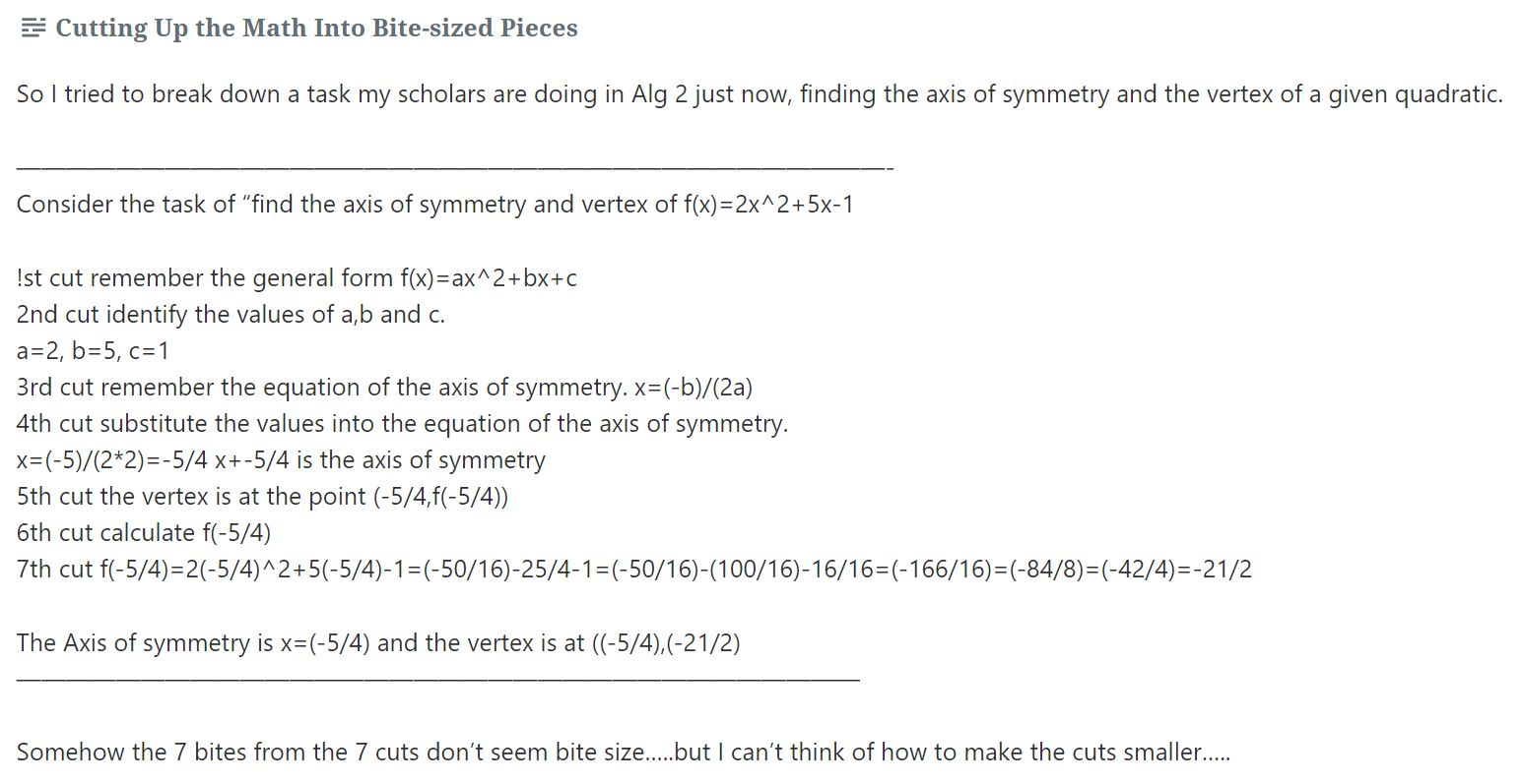 dougs question about axis of symmetry