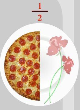 half pizza
