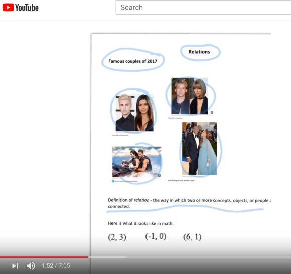 screen shot relations video