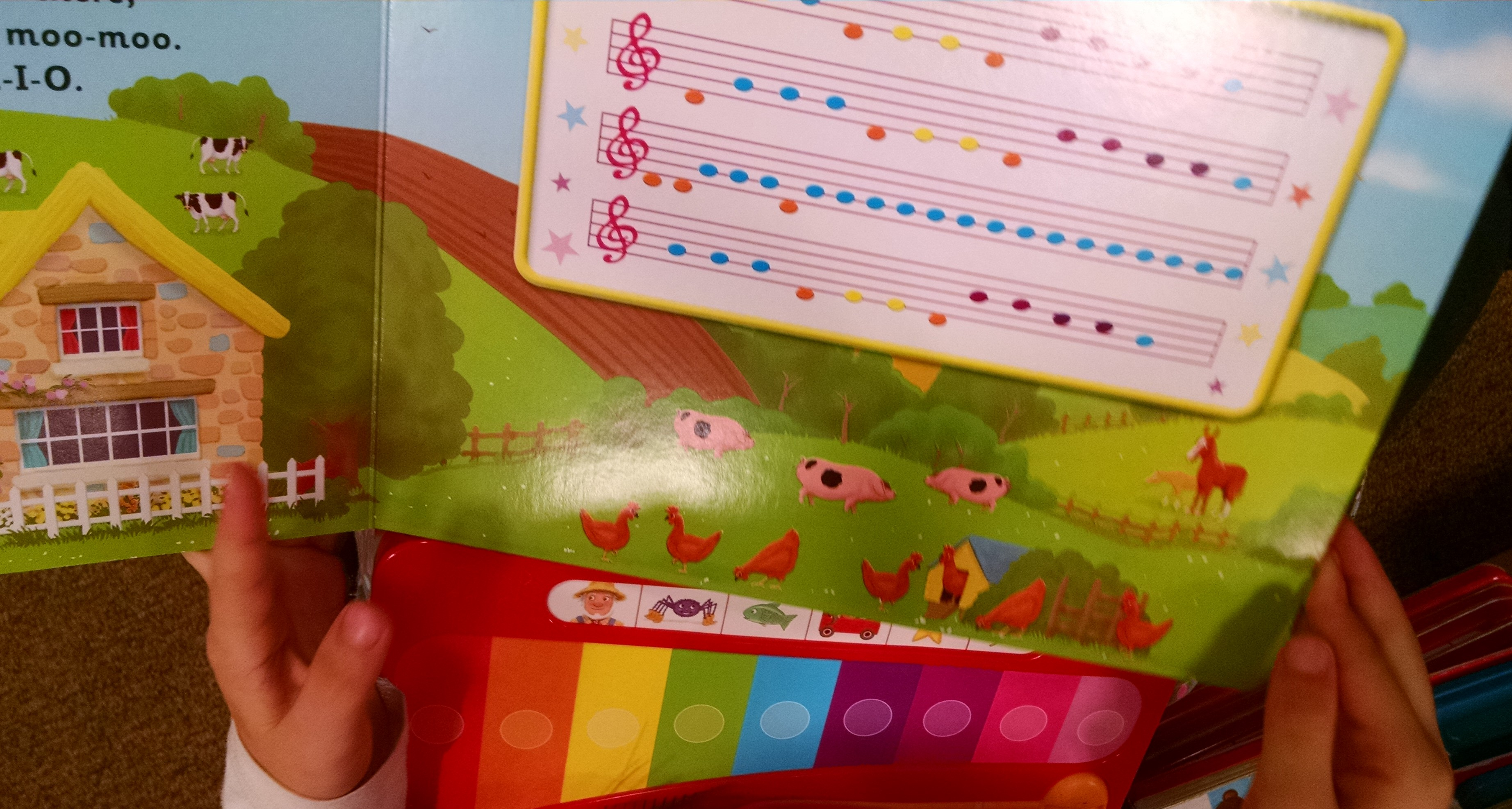 keyboard for childrens book