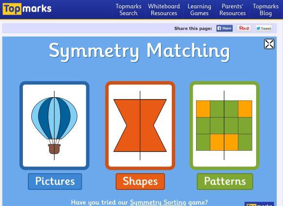 top marks symmetry